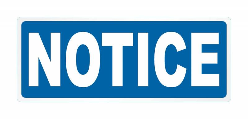 Notice for Qualifying Exam